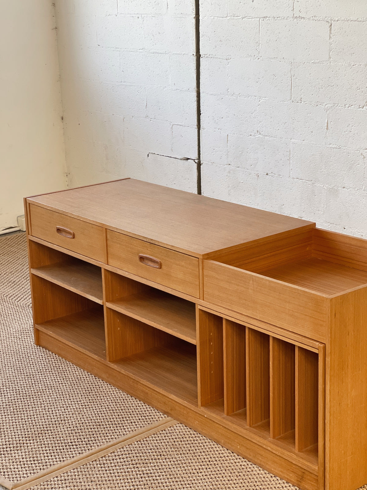 Mid Century Sideboard / Record Cabinet