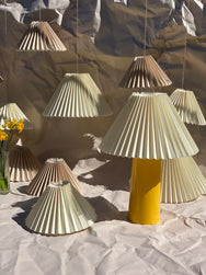 Pleated Lamp Shades