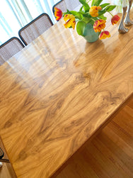 Incredible Large Burl Dining Table