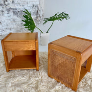 Rattan Bedside Drawers