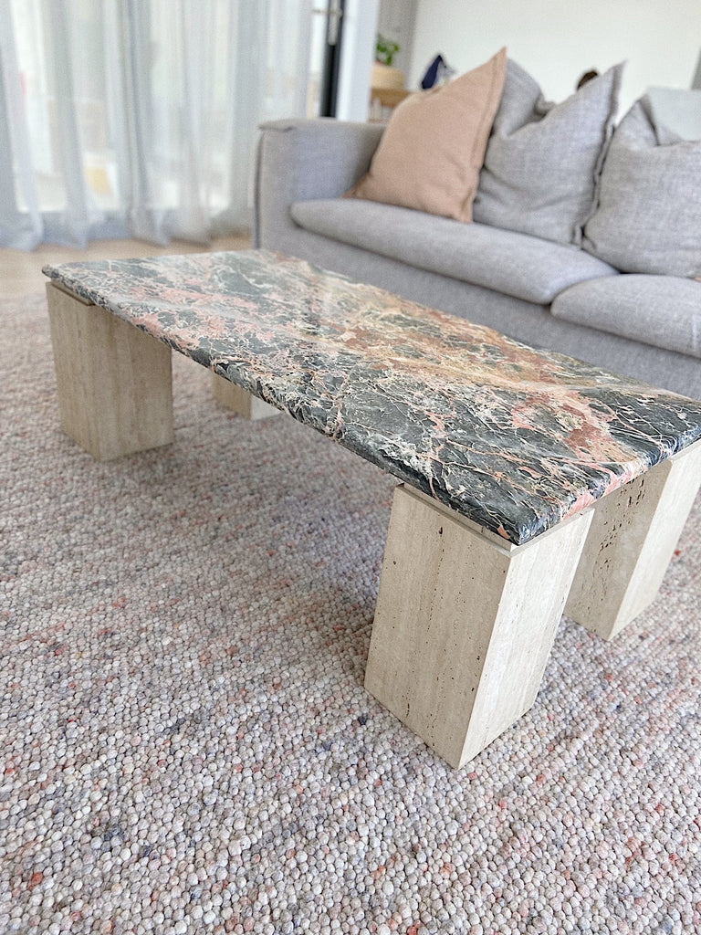 Marble & Travertine Coffee Table