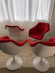 Red Tulip Chairs