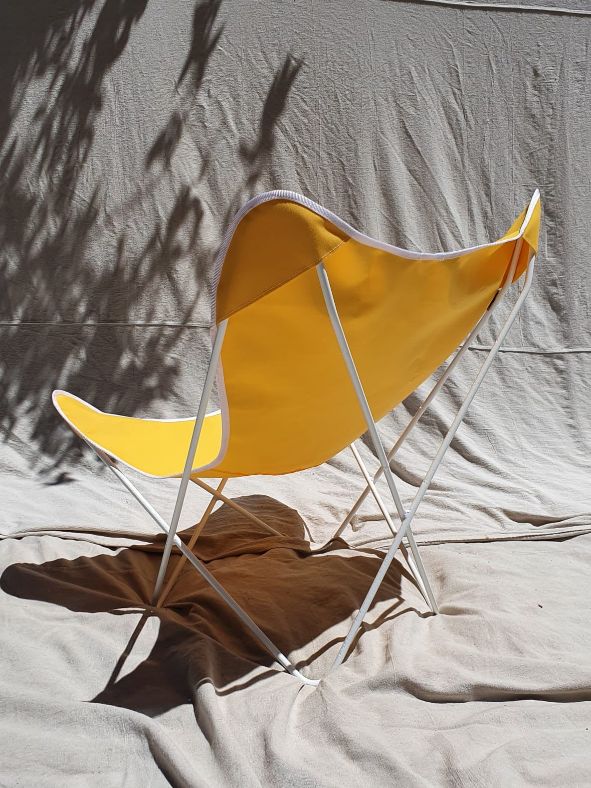 Yellow Butterfly Chairs