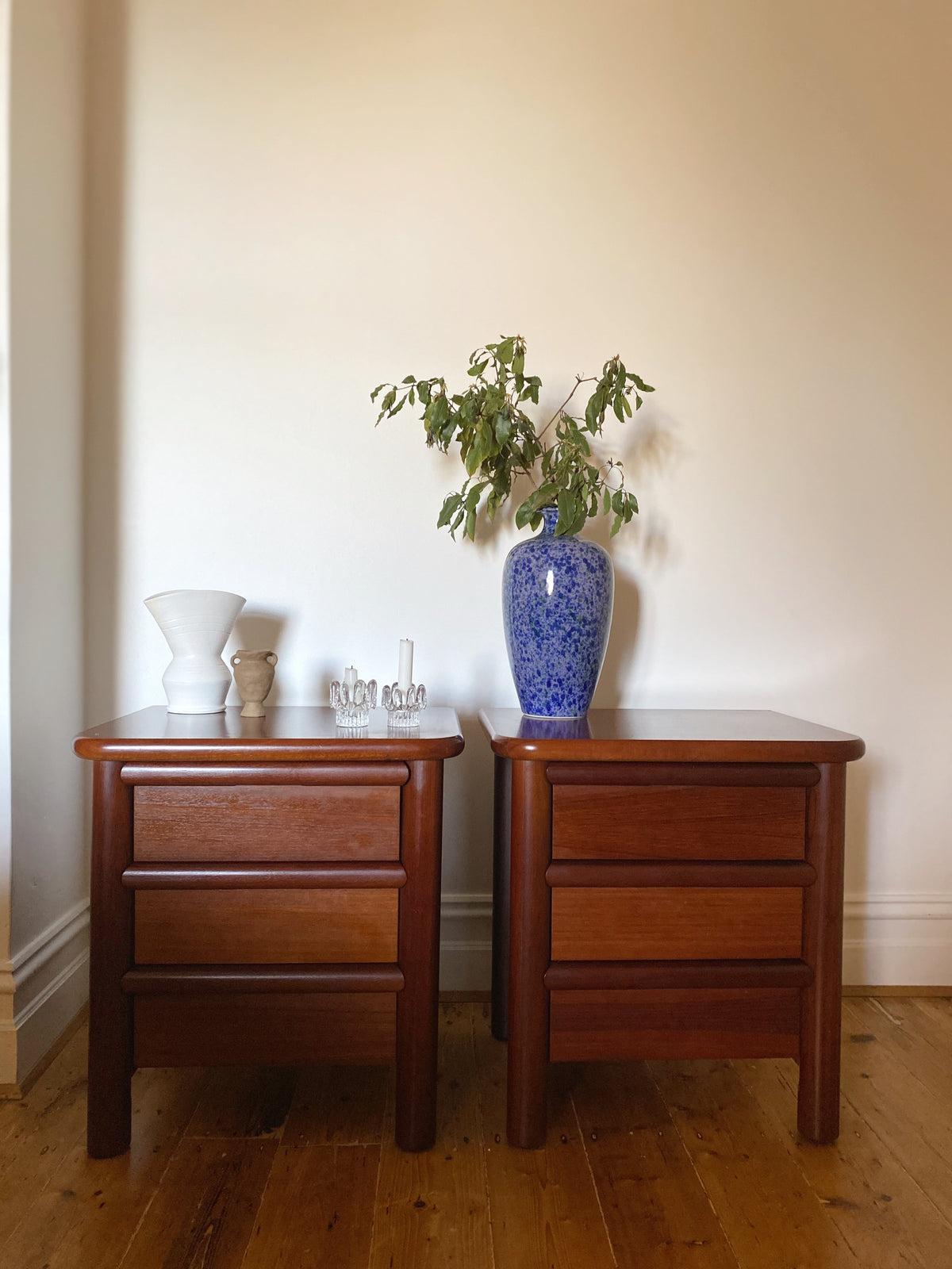 Pair of Australian Made Mid Century Bedside Tables