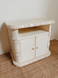 Fossil Stone Cabinet
