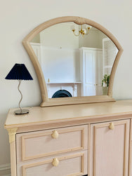 Epic Italian Mirror With Clamshell Detail