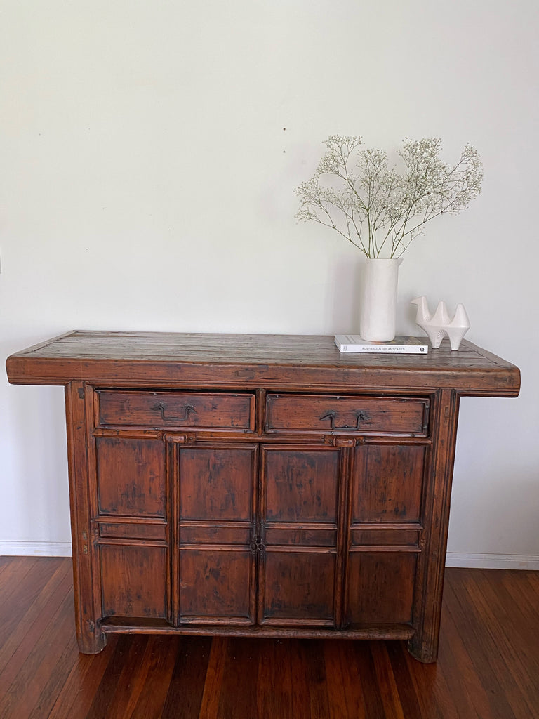 19th Century Antique Buffet made from Oregon Pine
