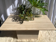 Vintage Travertine Coffee Table