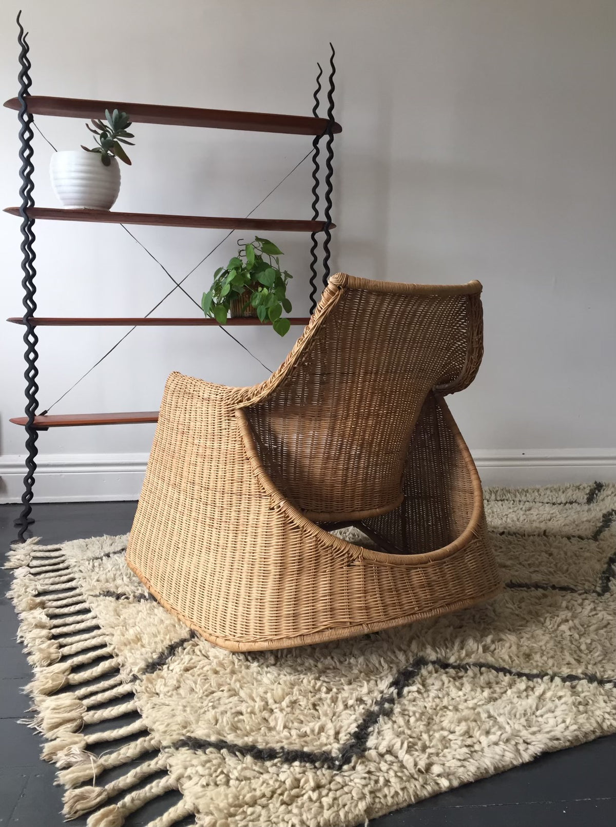 Cane Rocking Chair