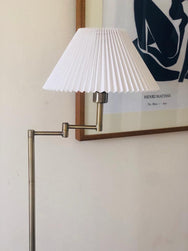 Brushed Brass Vintage Floor Lamp