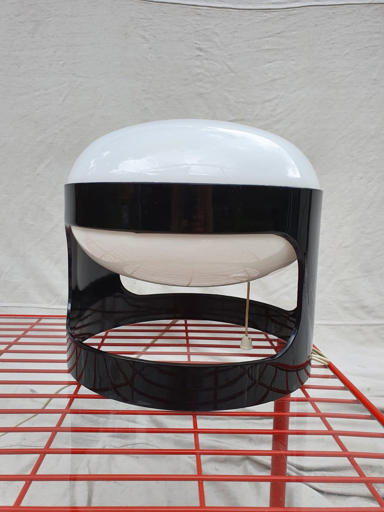 Black Kartell KD27 Lamp by Joe Colombo in 1967