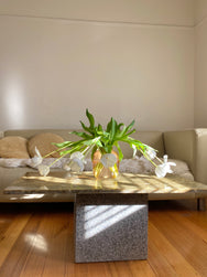 Green Marble Top Coffee Table