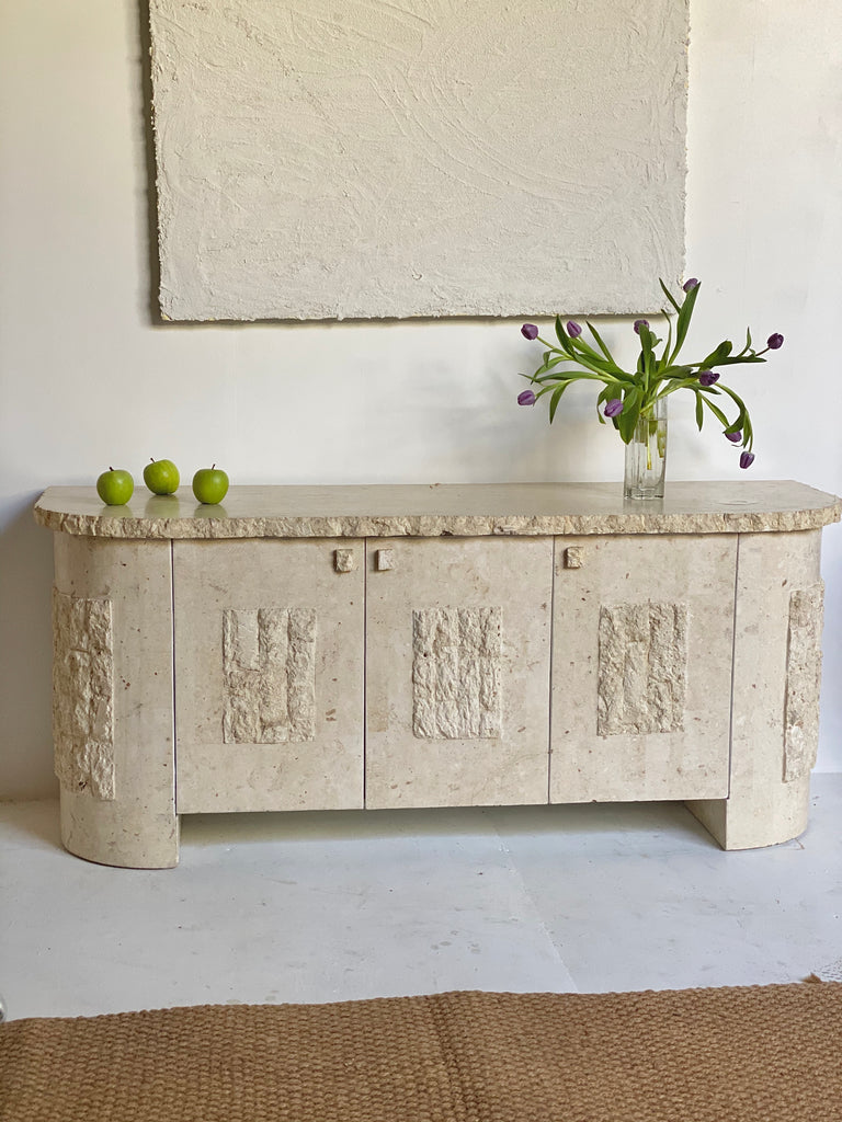 Fossil Stone Sideboard