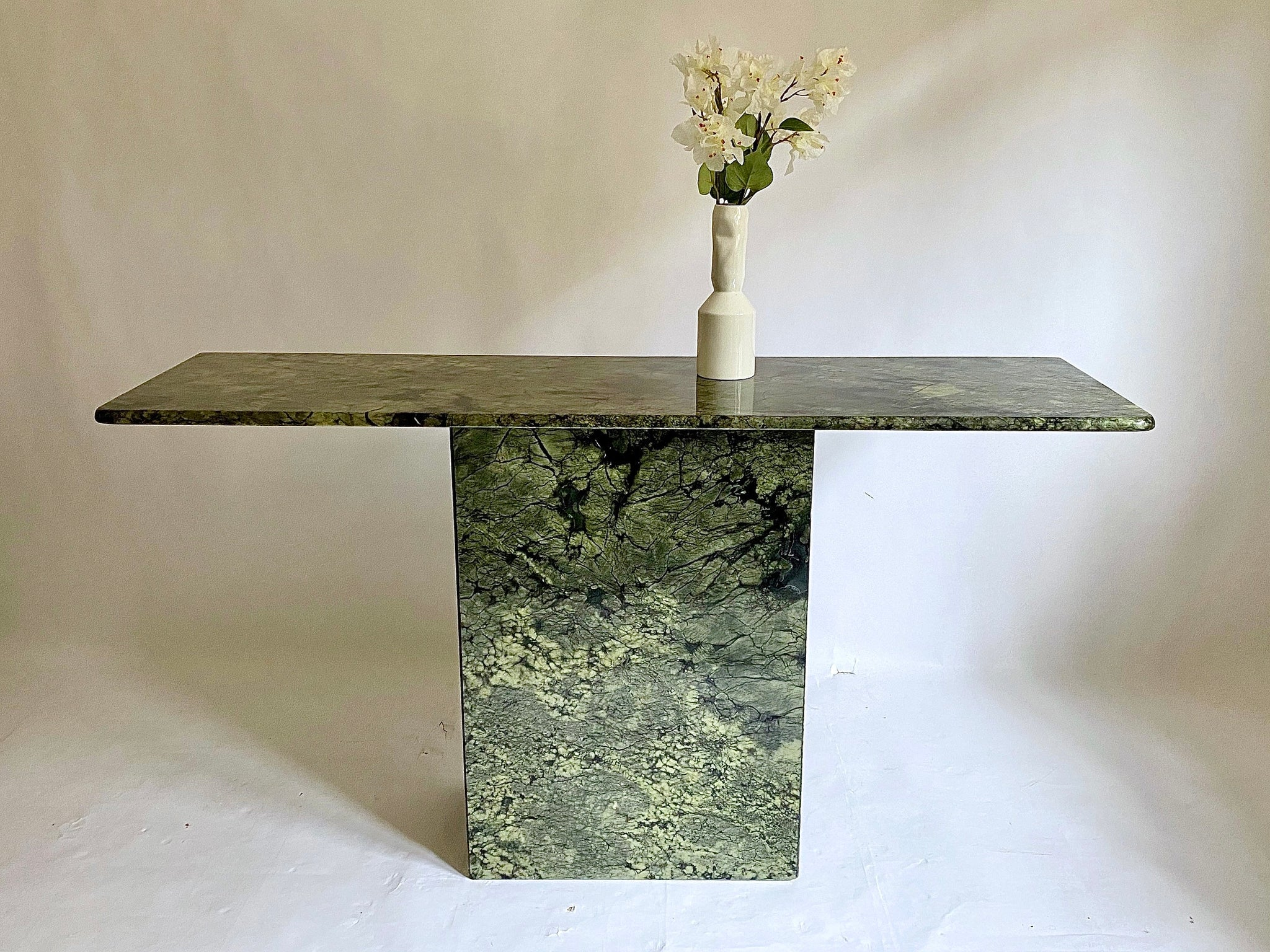 Italian Marble Hall Console Curated Spaces