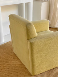 Vintage Boucle Lounge Chair