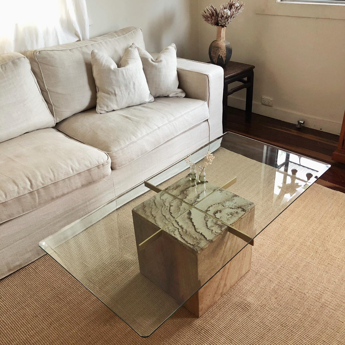 Sandstone Coffee Table
