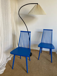 Bright Blue Dining Chair