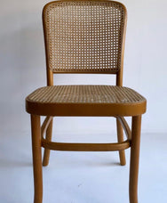 Vintage Bentwood Rattan Chairs