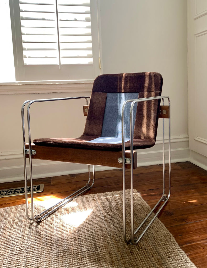 1970s Ramler Lounge Chair - One Remaining