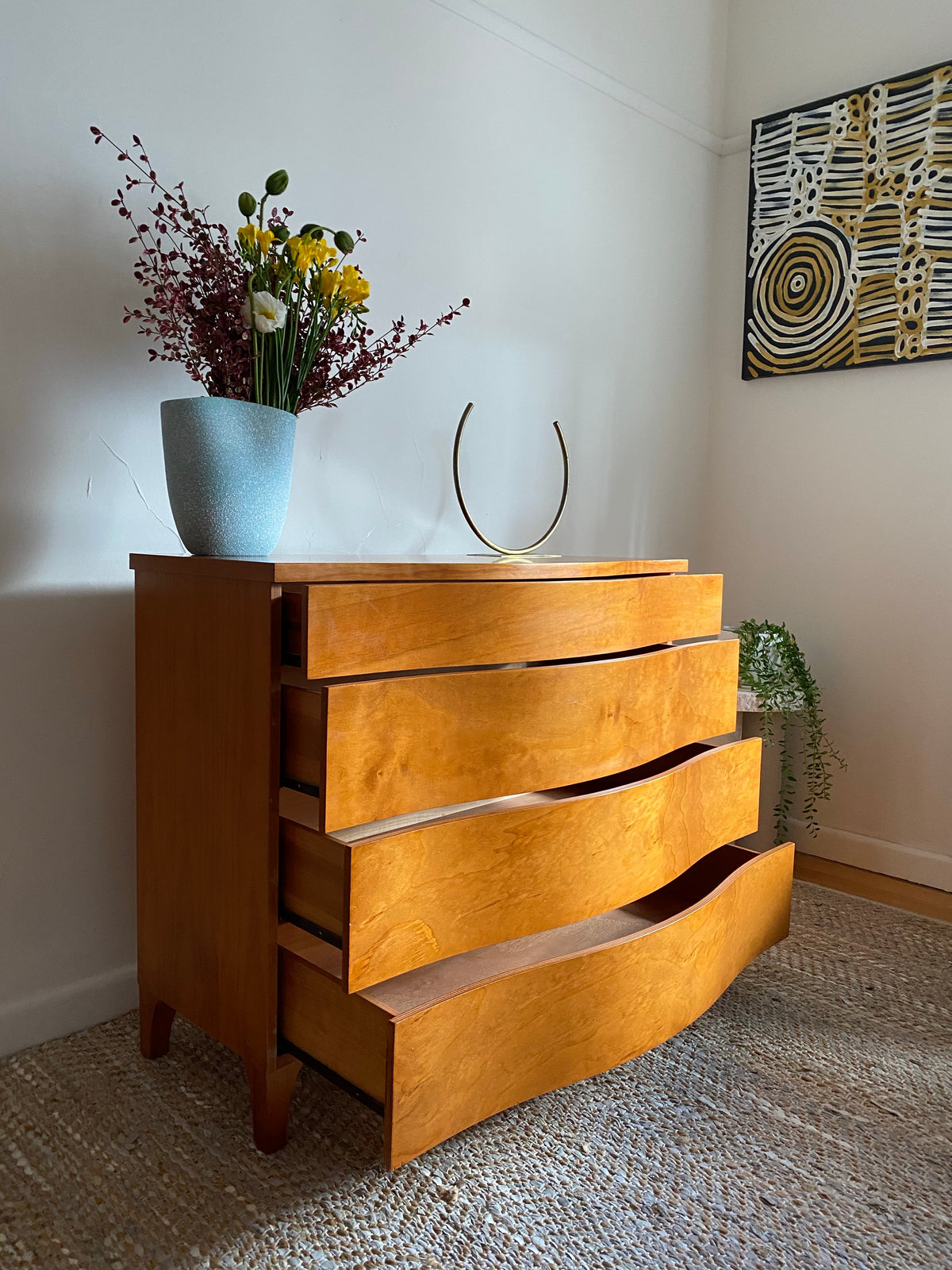 Vintage Wooden Drawers