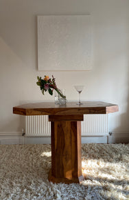 Square Wooden Dining Table