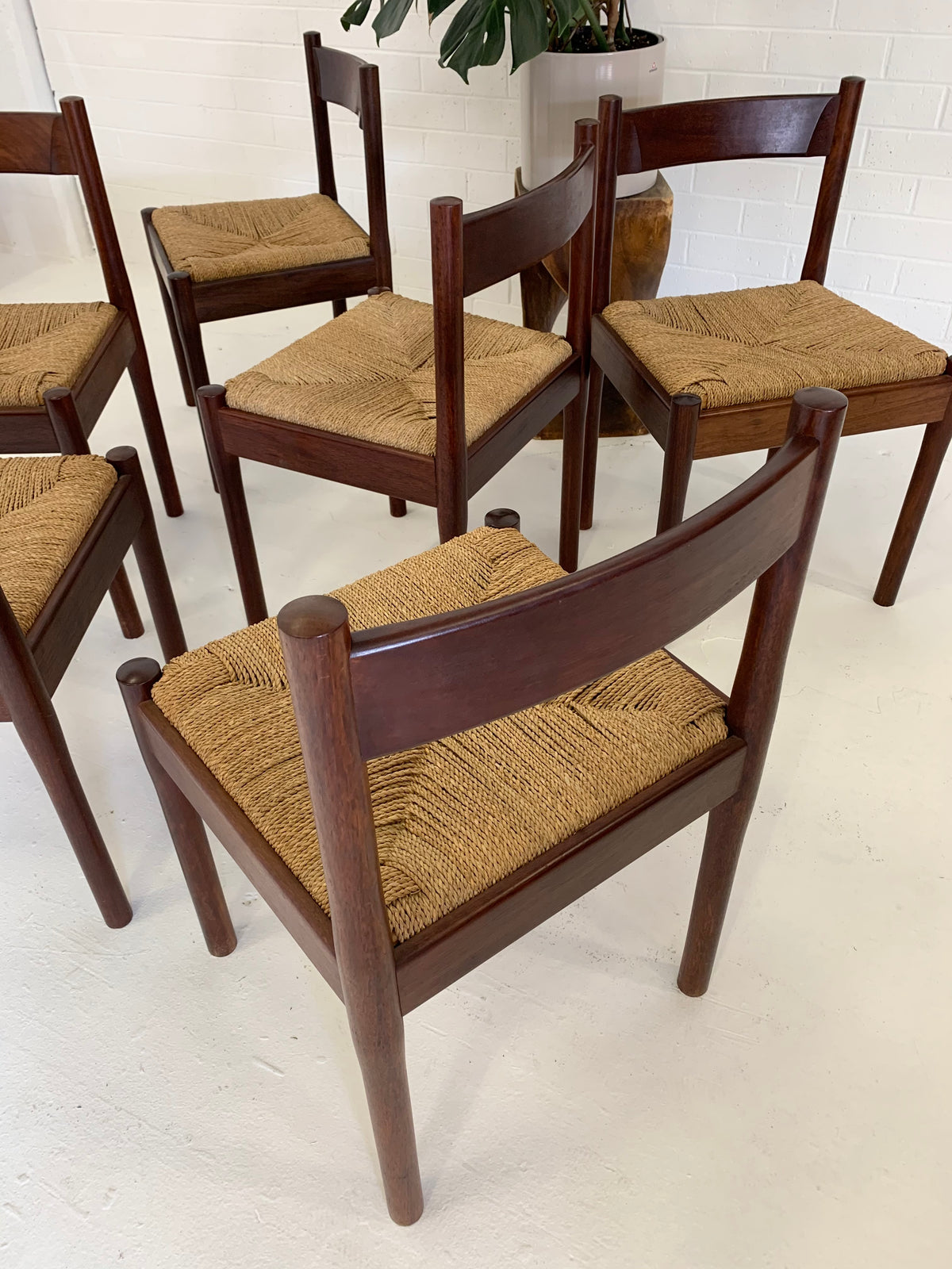 Carimate Dining Chairs in Jarrah