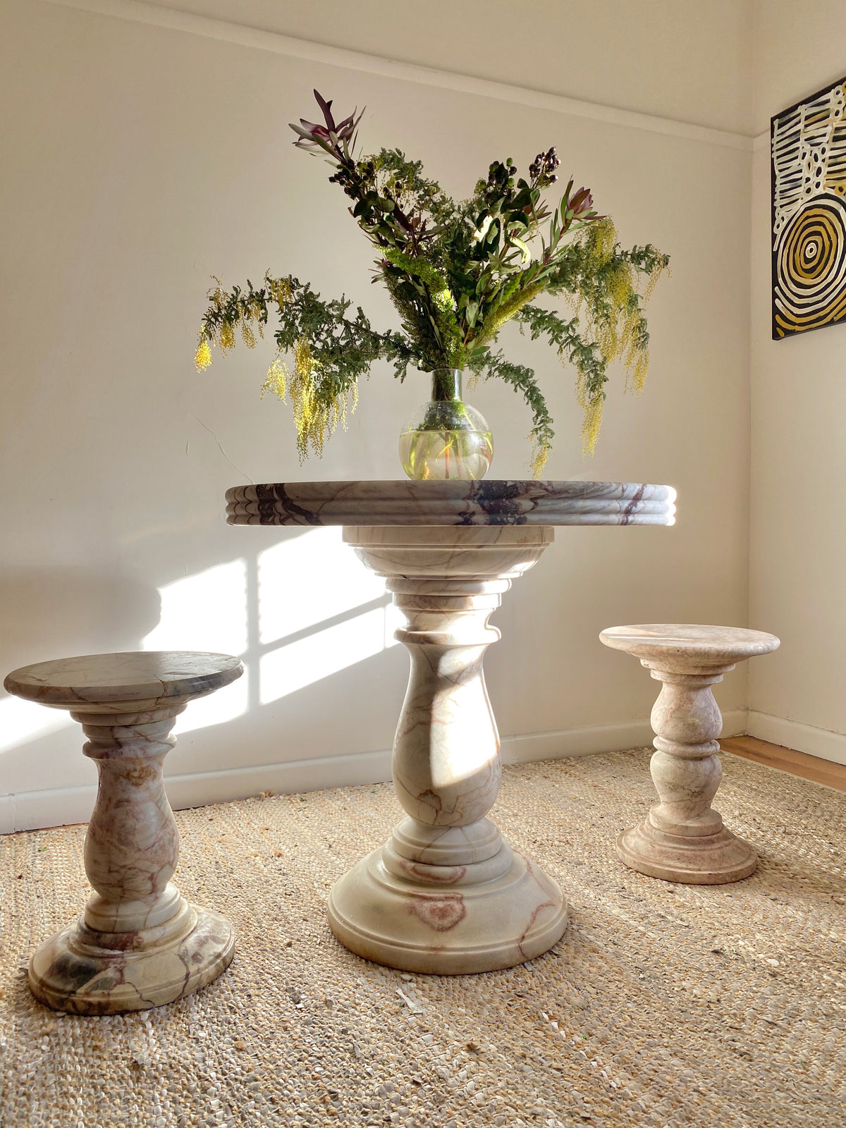 Marble Side Tables