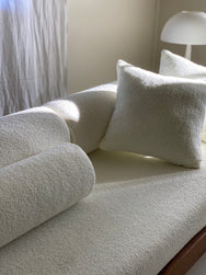 Boucle Bolster Cushions