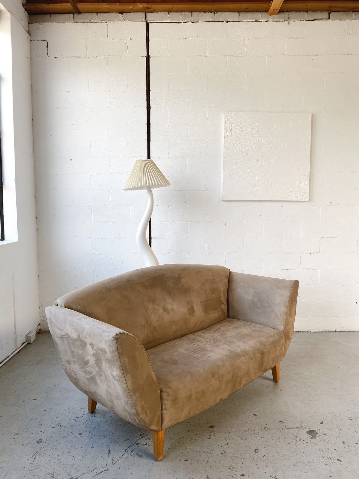 Small Brown Lounge