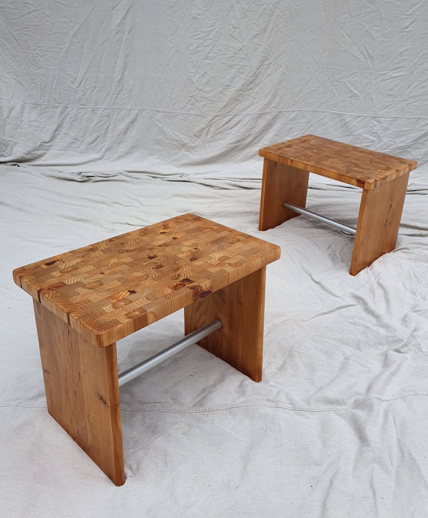Pair of A1101 Robert Dunlop Side Tables