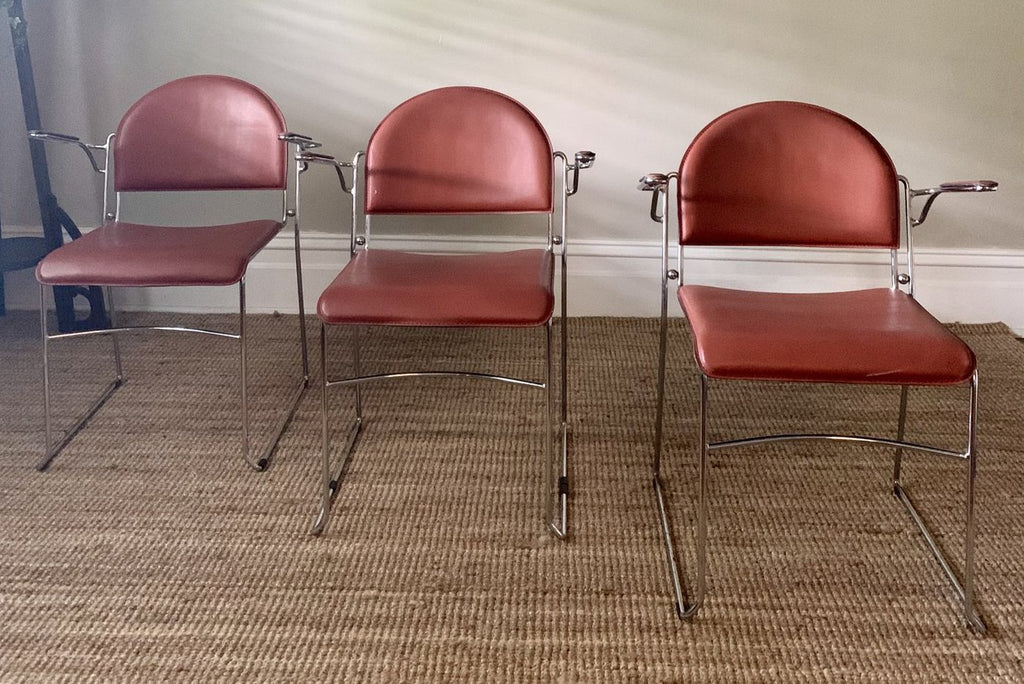 Six Vintage Italian Dining Chairs - Price is Per Chair