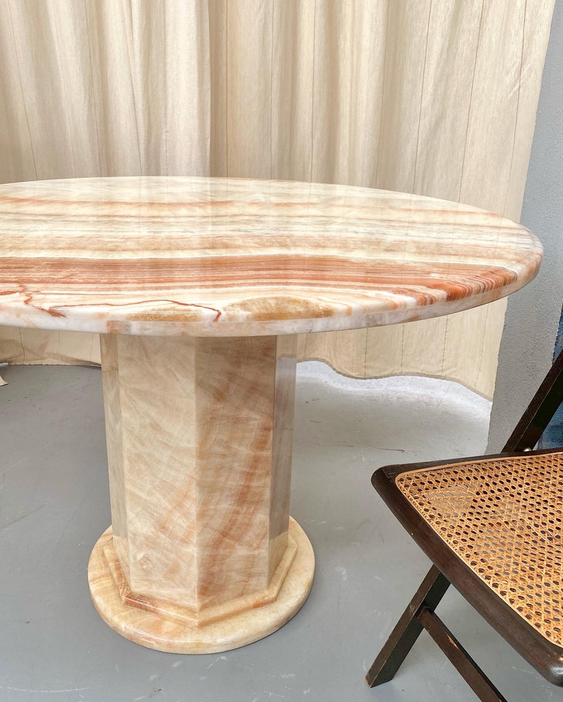 Stunning Onyx Dining Table