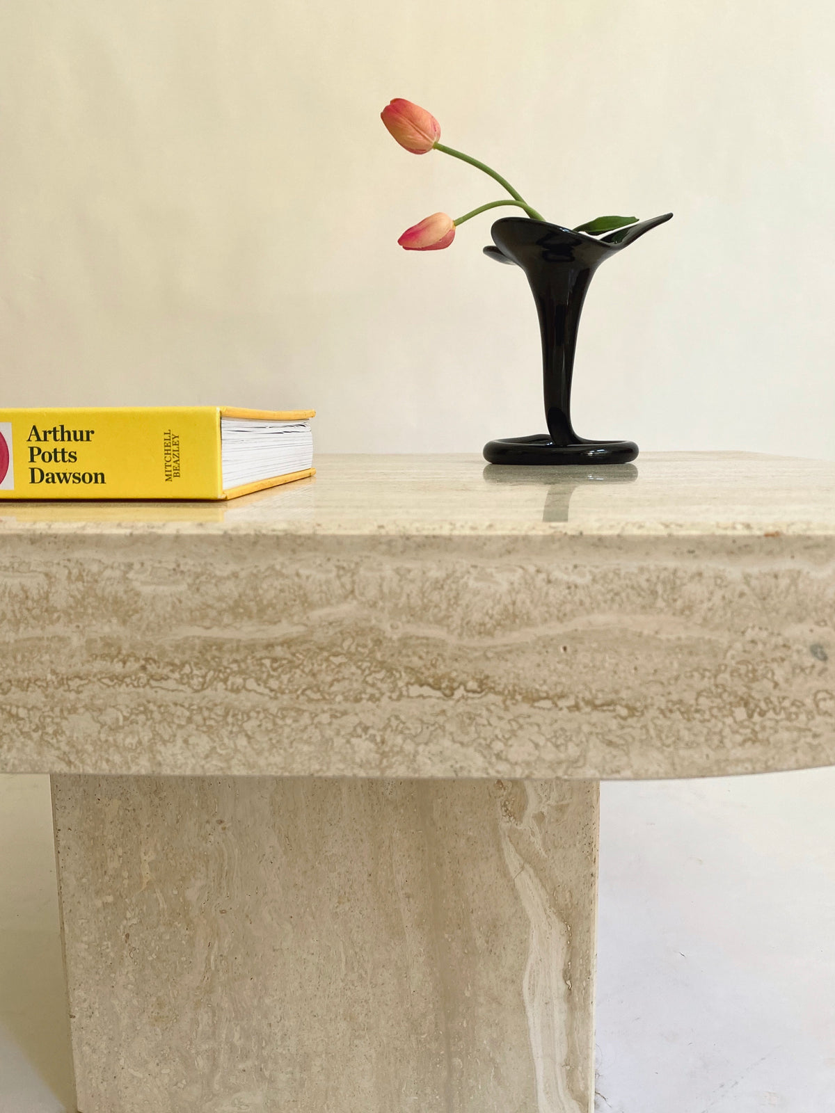Natural Travertine Coffee Table