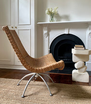 Swivel Cane Feature Chair