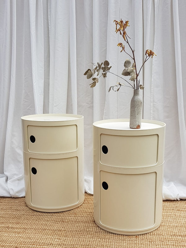 Pair of Kartell Componibili Cabinets