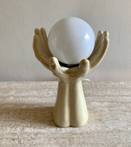 Art Deco Hands Lamp