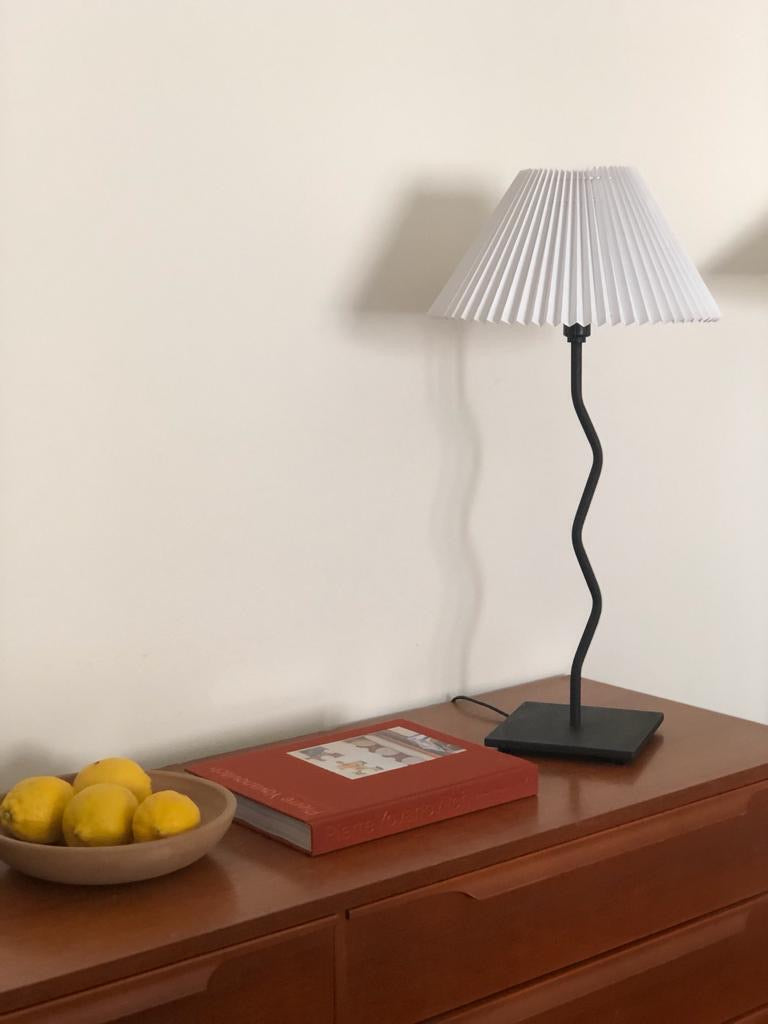 80s Squiggle Lamp