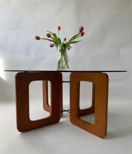 "Mid Century ""Window"" Coffee Table"