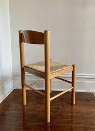 Set of Vintage Rush Dining Chairs