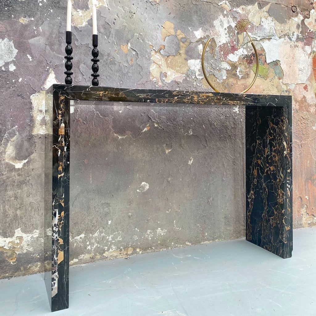 Custom Marble Console Table