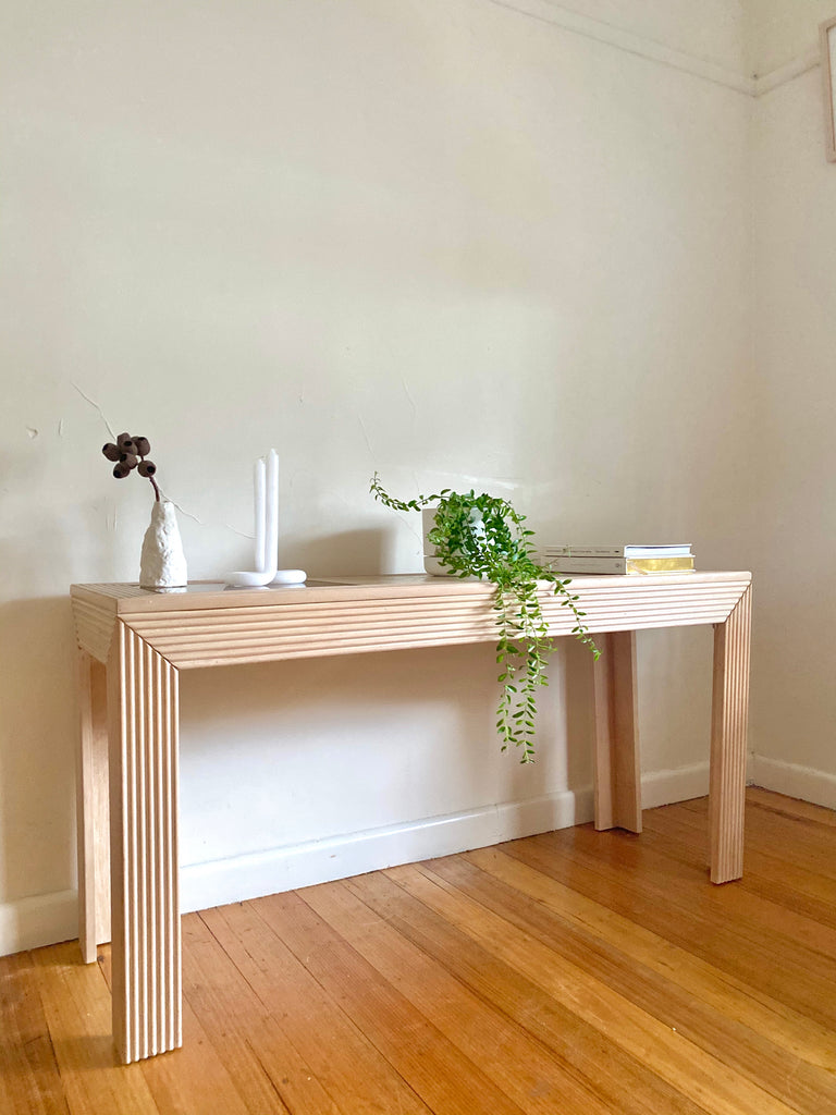 Vintage Wooden Hall Table