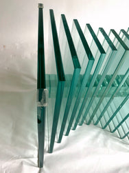 Graphic Glass Coffee Table