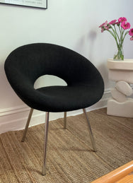 90s Boucle Hoop Chair — One Left