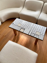 Porcelain Tiled Coffee Table