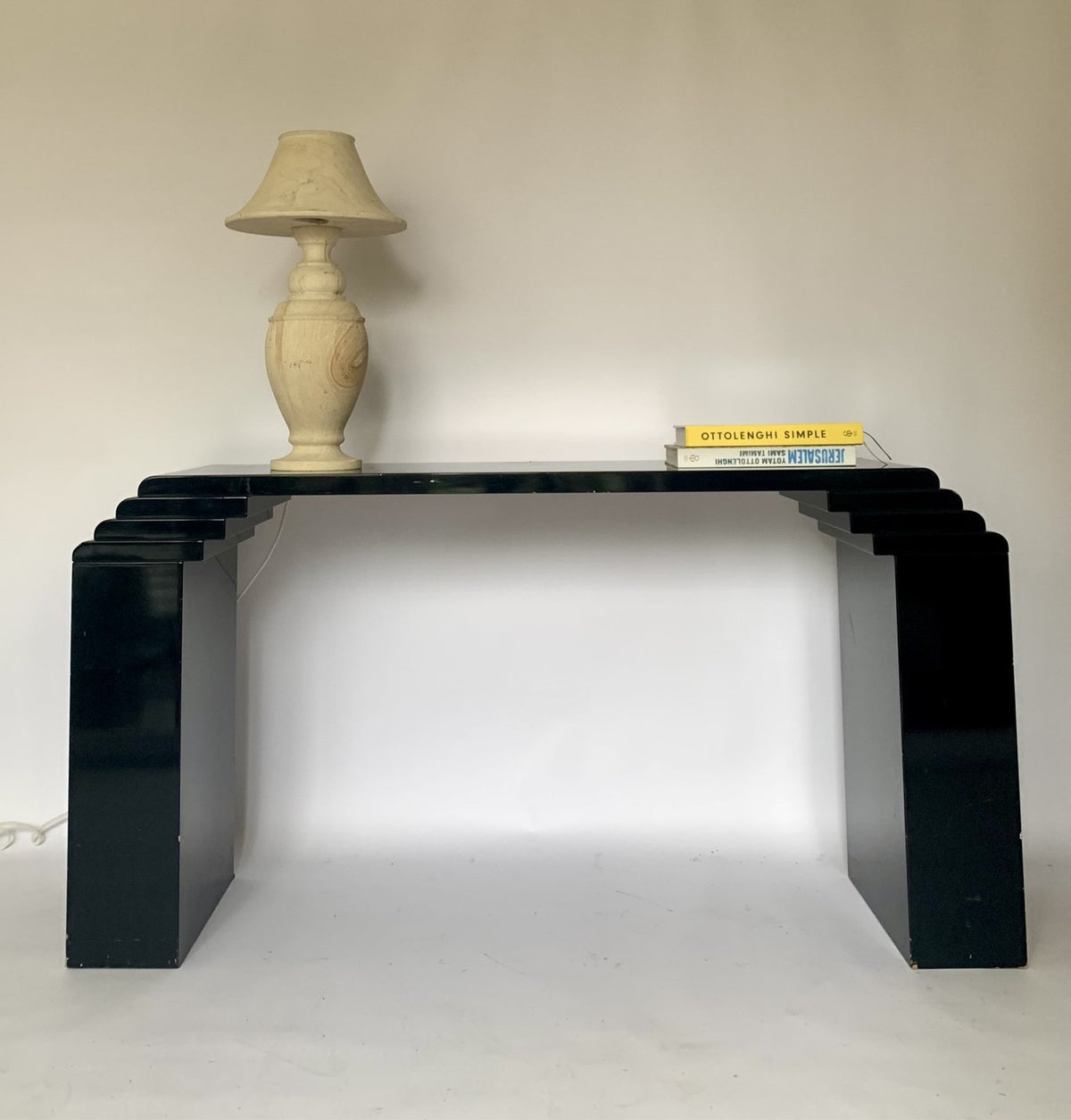 Art Deco Style Lacquered Console