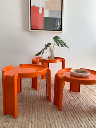 Original Kartell Nesting Tables
