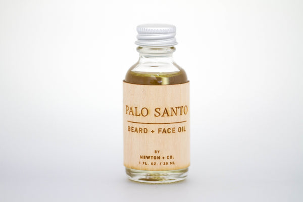 Palo Santo Beard + Face Oil