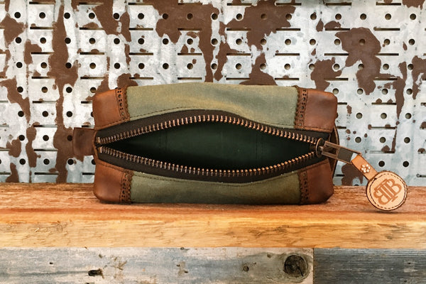 Suited & Booted Dopp Kit Zipper