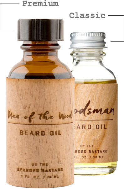 Premium and Classic Beard Oil