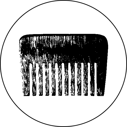 Beard Comb Icon
